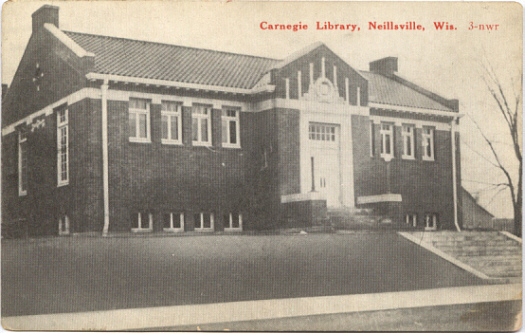 Neillsville Public Library early 1900s