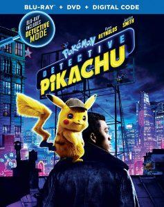 DVD Detective Pikachu