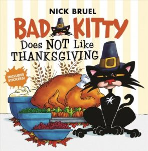 PIC Bad Kitty does not like thanksgiving