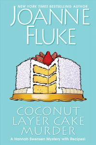 FIC Coconut layer cake murder