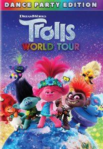 DVD Trolls world tour