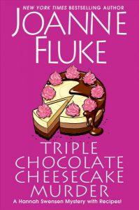 FIC Triple chocolate cheesecake murder