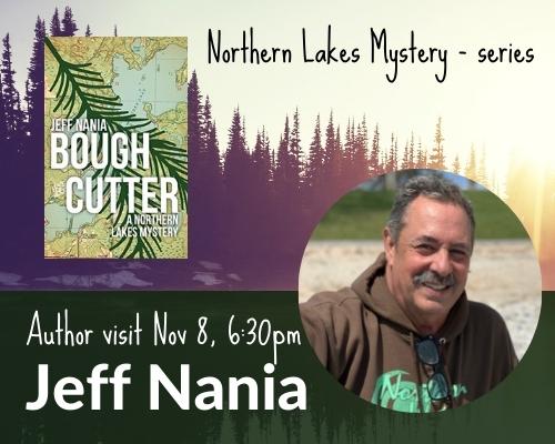 Author Visit Nov. 8th: Jeff Nania