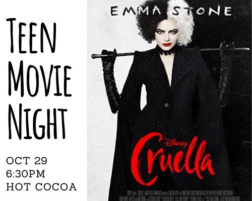 Cruella: Teen Movie Night